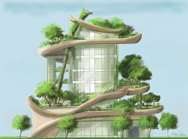 Ronald Chagoury Jr Green Building Image From Site